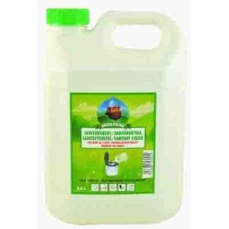 Sanitetsvätska Green Viking 2,5 liter