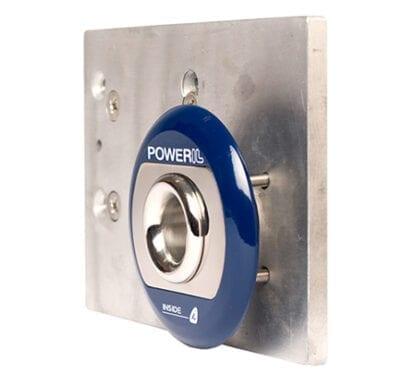 Skrovgenomföring PowerIL Inside komplett 1000 W vit ring