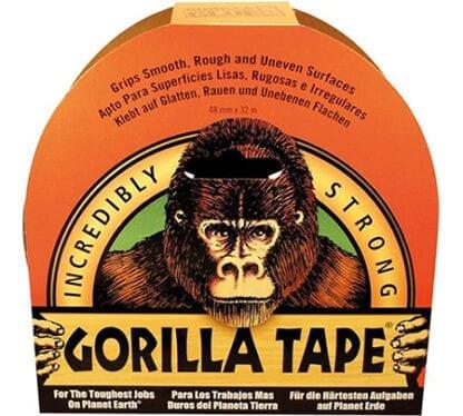 Gorilla vävtejp 48 mm x 27 m vit