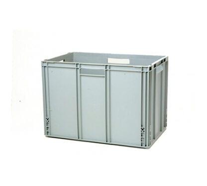 Förvaringsback grå 400 x 600 x 420 mm