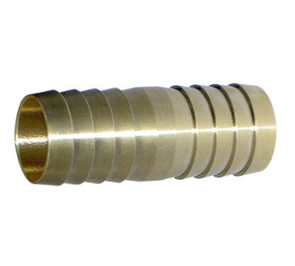 Skarvrör mässing 19 x 19 mm