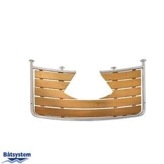 Badplattform för segelbåt Båtsystem 60-serien PR1306030 för utanpåliggande roder