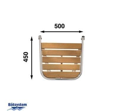 Badplattform för motor- och segelbåt Båtsystem PM4550