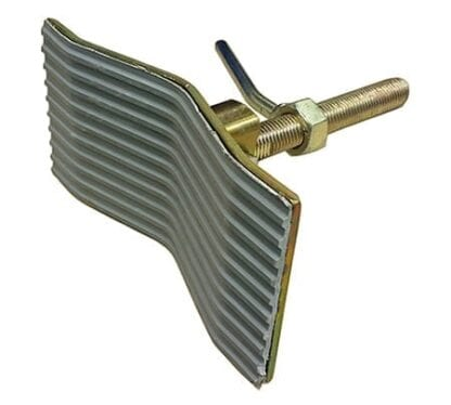 Topplatta M20 vinklad (stävstötta)