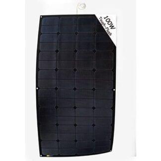 Solpanel SunBeam Tough Flush 100 Watt - svart