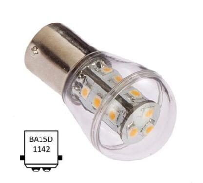 LED NauticLED BA15D Bulb 10-35V 1,6W 2700K