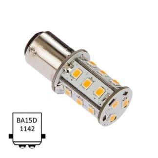 LED NauticLED BA15D Tower 10-35V 2,4W 2700K