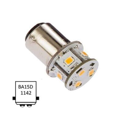 LED NauticLED BA15D Tower 10-35V 1,4W 2700K