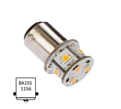 LED NauticLED BA15S Tower 10-35V 1,4W 2700K