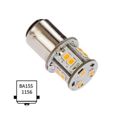 LED NauticLED BA15S Tower 10-35V 1,8W 2700K