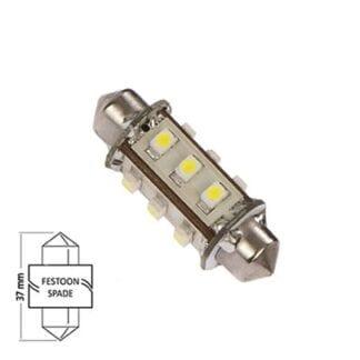 LED för lanterna NauticLED spoolfattning kallvit 10-30V 1,0W 37mm