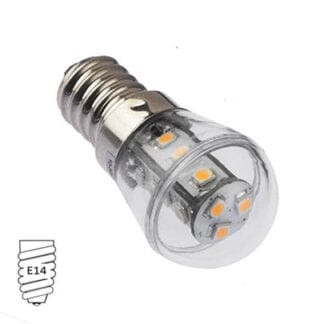 LED NauticLED E14 varmvit 10-30V 1,6W