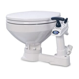 Toalett Jabsco manuell comfort 2018 med SoftClose