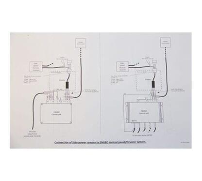 Engbo Side-Power adapterkabel