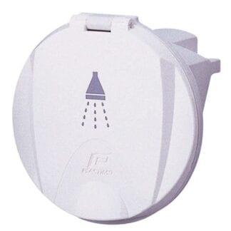 Duschhållare vit Plastimo