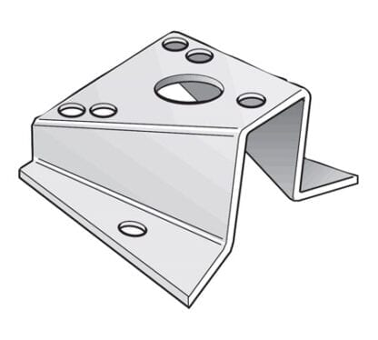 Mastfäste/platta 15°