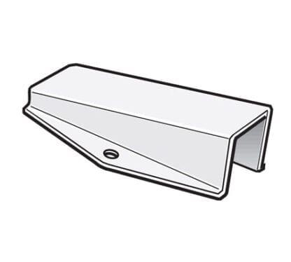 Instrument-/antennfäste 15° 100 x 40 mm