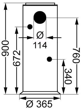 Refleks kamin modell 67 7,2 kW