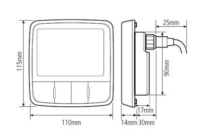 Raymarine i50 & i60 instrumentsystem