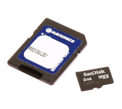 Navionics NAV UPDATE MicroSD 8 GB