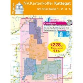 NV. Verlag kombipack Atlas serie 1-3 och 5 utgåva 2018