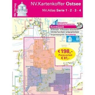 NV. Verlag kombipack Atlas serie 1-4 utgåva 2018