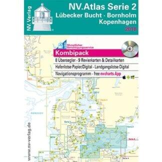 NV. Verlag båtsportkort Atlas serie 2 utgåva 2018