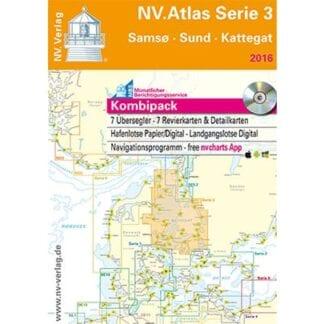 NV. Verlag båtsportkort Atlas serie 3 utgåva 2018
