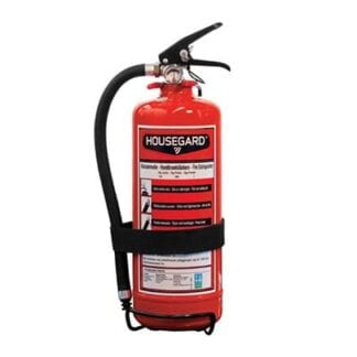 Brandsläckare ABC 2 kg pulver med slang