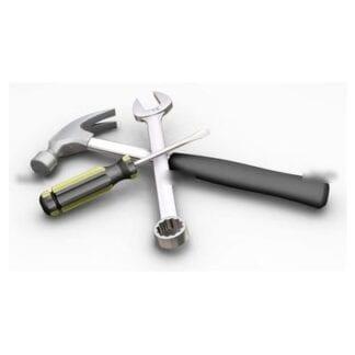 Montering spinnakerbom i aluminium ø 48-72 mm