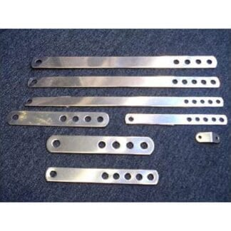 Bandjärn för vajer 7 mm (1/2{) 420 x 30 mm