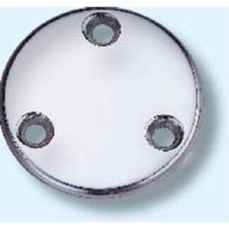 Täckbricka AISI 316 ø 74 mm, 3 hål