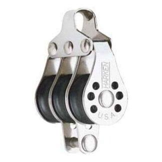 Harken 22 mm Micro trippelblock med hundsvott