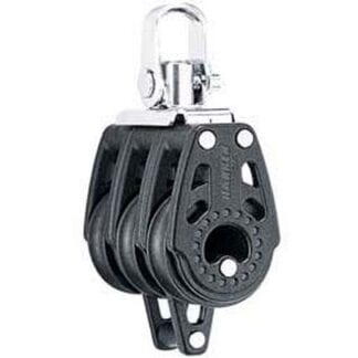 Harken 29 mm Carbo trippelblock med hundsvott