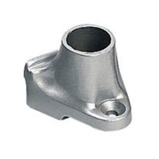 Mantågsfot för Plastimo relingslist aluminium teakdäck 0°
