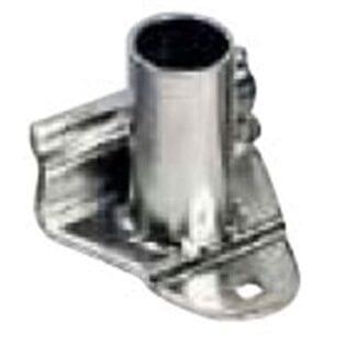 Mantågsfot för Plastimo relingslist rostfri standard 0°