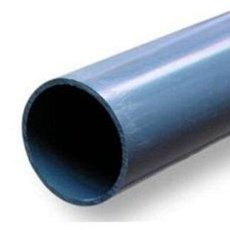 Extra plaströr 28 x 25 mm, Plastimo mantågsfot i aluminium