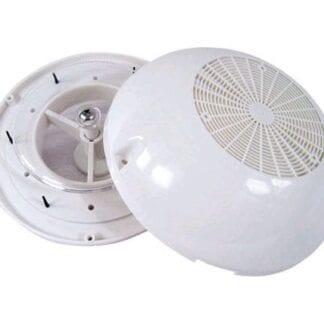Ventilator med plastkåpa