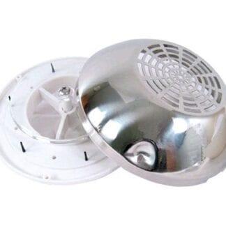 Ventilator med rostfri kåpa ø 200 mm