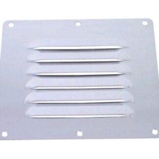 Ventilationsgaller rostfri 126 x 115 mm