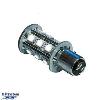 LED för lanterna Båtsystem BAY15D 8-30V 2,4W