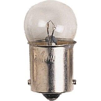 Glödlampa BA15D 12V 10W