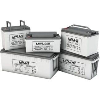 Batteri UPLUS AGM DeepCycle 12V 75Ah