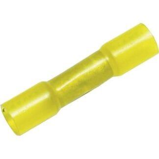 Skarvhylsa med krympslang gul 4-pack (kabelarea 4,0 - 6,0 mm²)