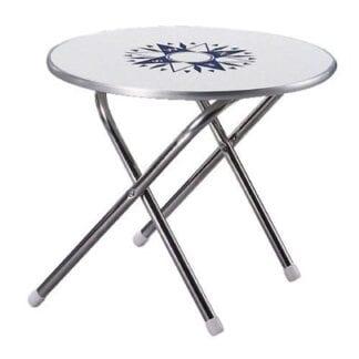 Däcksbord ø 61 cm, höjd 51 cm