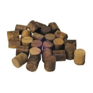 Teakplugg 12 mm 20-pack