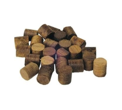Teakplugg 10 mm, 20-pack