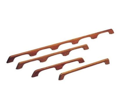 Grabbräcke i teak 3-grepp - 840 mm