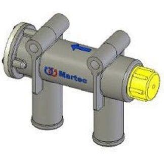 Vacuumventil Martec för slang ø 16 mm