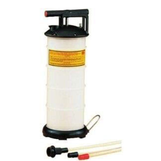 Oljebytarpump med behållare 4 liter